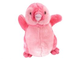 12 Bulk Vibes 12 in  Pink Playful Penguin Plush Toy