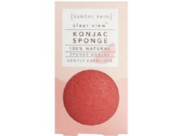 72 Bulk Sunday Rain Clear View 100% Natural Konjac Sponge