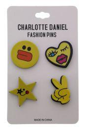 96 Bulk Fashion Pin Set