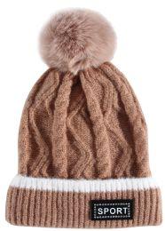 24 Bulk Kids Winter Hat With Fur