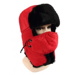 36 Bulk Winter Trapper Hat With Fur