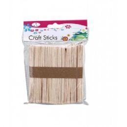 96 Bulk Craft Sticks Wood