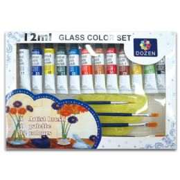 24 Bulk Glass Color Set