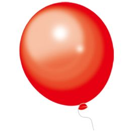 24 Bulk Red Balloons 100 Count
