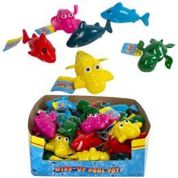24 Bulk Pool and Bath Toy Wind-up Sea Animals