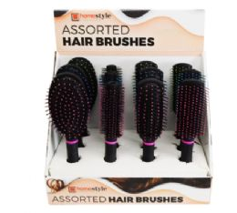 24 Bulk Assorted Hair Brush