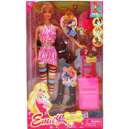 "12 Bulk 11.5"" Ethnic Jada Doll W/ Accessories In Window Box"