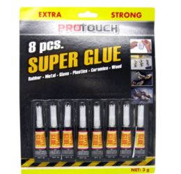 24 Bulk Super Glue 8 Pack