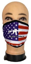 24 Bulk Flag Style Face Mask We Don't Call 911
