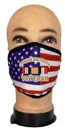 24 Bulk Flag Style Face Mask Iraqi Veteran
