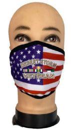 24 Bulk Flag Style Face Mask Desert Storm Veteran