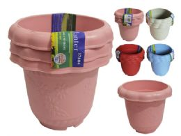 48 Bulk Flower Pot Planter Assorted Color