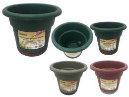 72 Bulk Self Watering Flower Pot Planter