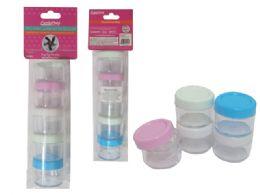72 Bulk 5 Piece Mini Storage Jar