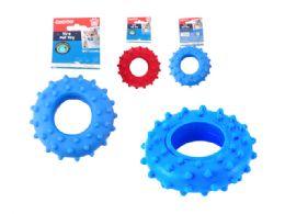 48 Bulk Squeaky Pet Toy Tire