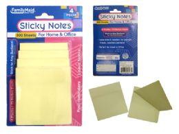 96 Bulk 4 Pack Sticky Notes