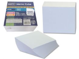 108 Bulk Memo Cube 500 Sheets In White