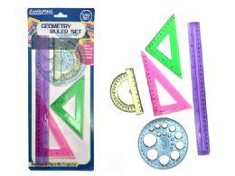 144 Bulk Geometry Ruler Set