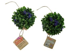 72 Bulk Topiary Ball With Flowers