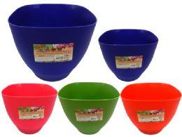 96 Bulk Flower Pot Planter With Base