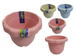 96 Bulk Flower Pot Planter Assorted Color