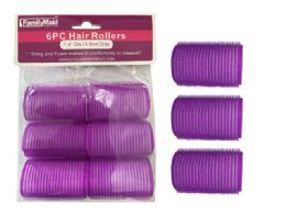 96 Bulk 6 Piece Cling And Foam Hair Rollers