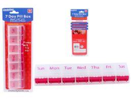 144 Bulk Pill Box 7 Day