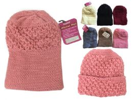 144 Bulk Womens Winter Hat Assorted Color