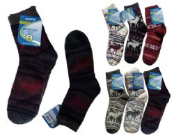 72 Bulk Mens Thick Sock