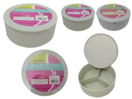 24 Bulk Organizer With Mirror And Lid