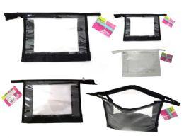 144 Bulk Clear Cosmetic Bag