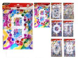 144 Bulk 2 Piece Placemats Assorted Rainbow Design