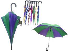 48 Bulk Umbrella Assorted Color