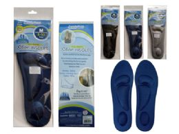 144 Bulk 1 Pair Cushioned Shoe Insoles