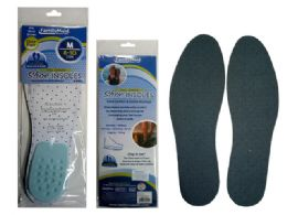 144 Bulk Shoe Insoles With Heel Cushion
