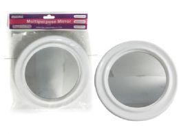 72 Bulk White Round Mirror