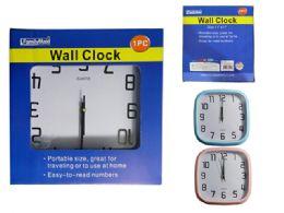 24 Bulk Square Wall Clock