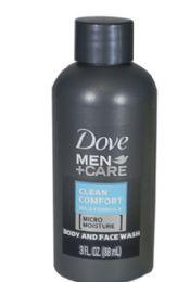 48 Bulk Travel Size Dove MENs Body Wash 3 oz.
