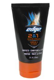 36 Bulk Travel Size Shave Cream Edge 2 In 1 Shave Cream 2 oz.