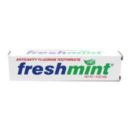 288 Bulk Freshmint 1.5 oz. Anticavity Fluoride Toothpaste