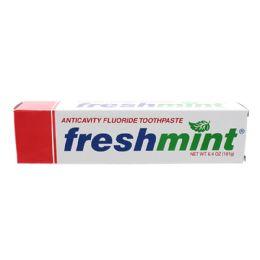 96 Bulk Freshmint 6.4 oz. Anticavity Fluoride Toothpaste