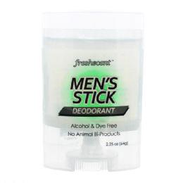 144 Bulk Freshscent 2.25 oz. Mens Stick Deodorant