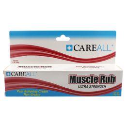 72 Bulk CareALL 3 oz. Muscle Rub