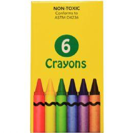 360 Bulk 6 Pack Of Crayons