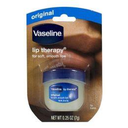 48 Bulk Travel Size Vaseline Lip Therapy Vaseline Lip Therapy Original 0.25 oz. Jar