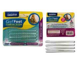 144 Bulk Gel Foot Cushion Thin Strips