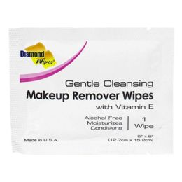 500 Bulk Facial Cleansing Makeup Remover Towelette Travel Size
