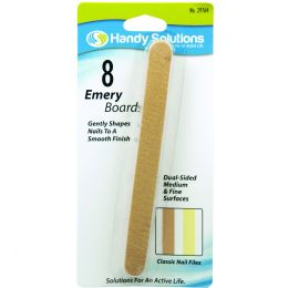 120 Bulk Handy Solutions Emery Boards Card of 8