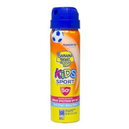 24 Bulk Sport Sunscreen Banana Boat Kids Sport Spray Sunscreen Spf 50 1.8 oz.