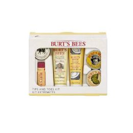 9 Bulk Burts Bees Tips and Toes Kit 6 Piece Gift Kit